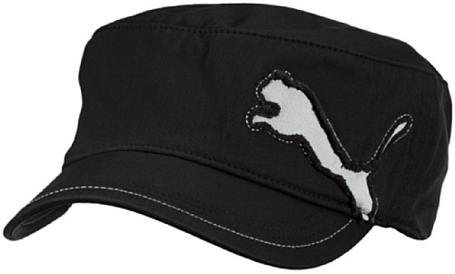 Puma Erwachsene Fairview Military Cap, Black, One size, 828272 01
