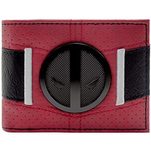 Marvel Deadpool Anzug Gürtel Rot Portemonnaie ()