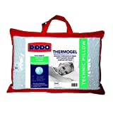 Dodo 8221640 Thermogel Oreiller Uni Taie Polyester/Modal + Sous-Taie Polyester Jersey...