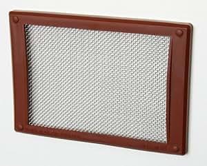 Grille Mousemesh Pour Ventilation De Brique 9 X 7 Marron