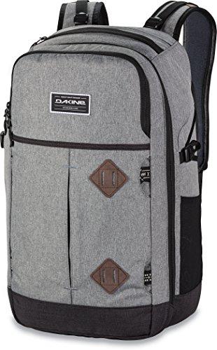 DAKINE Split Adventure 38L – Mochila para portátiles y netbooks (Gris, Monótono, Poliéster, Unisex, Front pocket, Side pocket, Zip pocket)