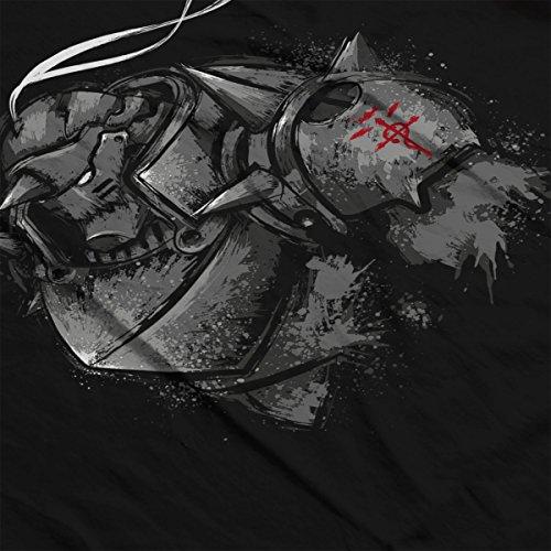Fullmetal Alchemist Inside The Armor Men's Vest Black