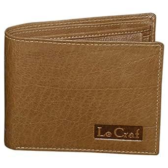 Le Craf Aaron Brown Leather Men's Wallet