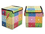 #2: Fashion Hub Multipurpose Square Shape Foldable Open Laundry Bag Basket With Carry Handle Bag For Storage Of Clothes, Toys Stander Size