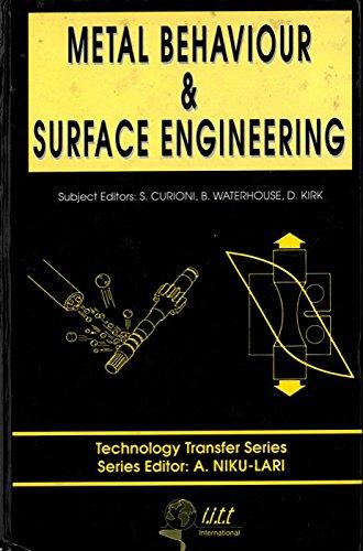 Metal Behaviour & Surface Engineering.