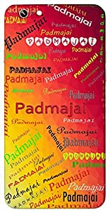 Padmajai (born from lotus, Lakshmi) Name & Sign Printed All over customize & Personalized!! Protective back cover for your Smart Phone : Moto G-4-PLAY