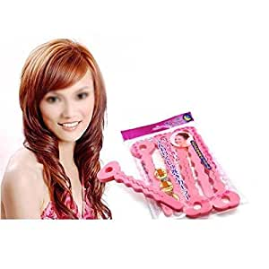 6pcs Magic SOFT twisty BENDY HAIR curly ROLLERS Foam Curler easy use by GGG