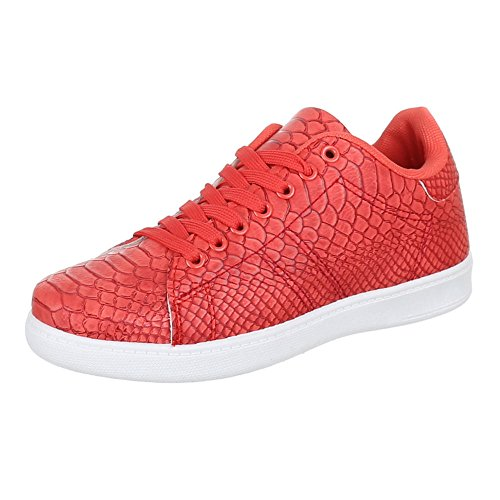 FZUU, Sneaker uomo, Rosso (Rot), 39