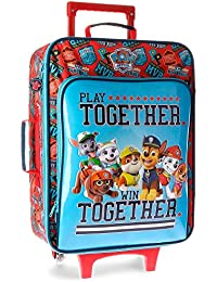 Paw Patrol Play Together Equipaje Infantil, 50 cm, 26 Litros, Azul