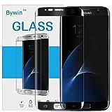Bywin 3D Incurvé Protection écran en TPU pour Samsung Galaxy S7 Edge (Black) Ultra-mince 0.2 mm Meilleur Film Protégé en Plastique de (Not Tempered Glass Screen Protector) (non vitre verre trempé )