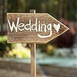 Servietten zur Hochzeit Wegweiser Wedding - 33x 33cm - 3 lagig - 20er Pack