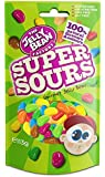 The Jelly Bean Factory Super Sours Cocktail 113 g Stehbeutel – 1er Pack | Gourmet Jelly Beans