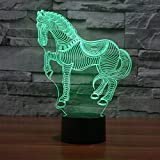 Lampe de bureau 7 couleurs à illusion d'optique poker - Best Reviews Guide