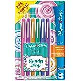 Paper Mate Flair Candy POP stylos feutre, pointe moyenne, assortiment de couleurs, lot de 6