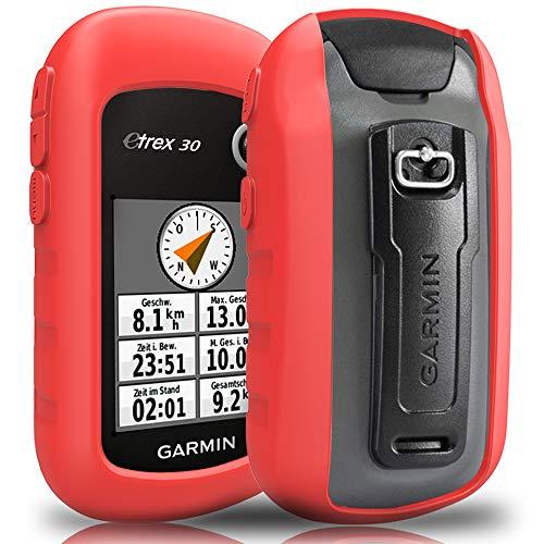 TUSITA hülle für Garmin eTrex 10 20 20X 22X 30 30X 32X - Silikon Schutzhülle Skin - Handheld GPS Navigator Zubehör Handheld-gps