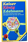 Kaiser König Edelmann. Wer schützt geschickt seinen Kaiser und besetzt mit ihm als erster die Festung? [Spiel].