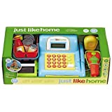 Just Like Home 15 inch Cash Register - Blue by Just Like Home