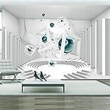 murando - Fototapete 400x280 cm - Vlies Tapete - Moderne Wanddeko - Design Tapete - Wandtapete - Wand Dekoration - Abstrakt 3D a-A-0173-a-d