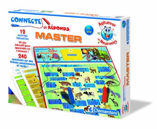 Clementoni - 62337.2 - Jeu Educatif et Scientifique - Connecte et Réponds - Master