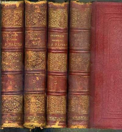 Oeuvres completes de J.Racine.