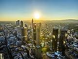 Lais Puzzle Frankfurt in der Abenddämmerung 1000 Teile