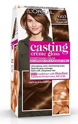 L'OREAL - Coloration - CASTING CRÈME GLOSS - Couleurs chatain et foncé - 603_ caramel tendre