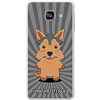 anglais Dessin animé Chiens téléphone Housse/Coque rigide pour téléphone portable Samsung, plastique, Yorkshire Terrier, Yorkie, Samsung Galaxy A3 (2016) (A310F)