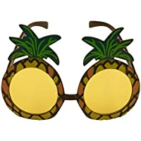 1 x Pineapple Sunglasses Glasses Specs Hawaiian Hula Fancy Dress Up Costume Accessory