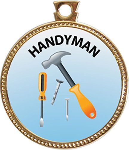 Keepsake Awards Handyman Gold Award Disk