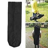 Forfar Skateboard wasserdichte Tasche Reise Deck Skateboard Longboard Nylon Sporting Wasserdicht Carrying Tasche Rucksack Schwarz