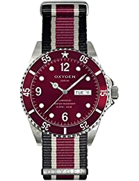 University Sports Press EX-D-GRA-40-NN-BLIVPL - Reloj de cuarzo unisex, correa de nailon multicolor