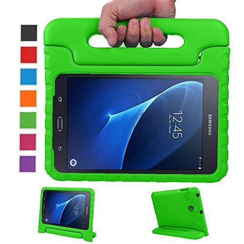Preisvergleich Produktbild LEADSTAR Samsung Galaxy Tab A 7.0 Kinder Hülle Eva Case mit umwandelbarer Handgriff Superleichte Stoßfeste Schutzhülle Tasche Cover für Samsung Galaxy Tab A 7 Zoll SM-T280 / T285 (Grün)