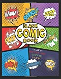 Blank Comic Book, Blank Template Comic Book: Awesome Fun Creating Your Own Comic Book for All Ages   8.5 x 11 Inch Sketchbook   100 Pages