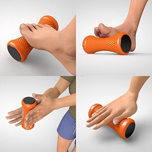 15 X 8 Cm Freundschaftlich Massageroller Auto Massagegerät Aus Holz Fußmassage Körpermassage
