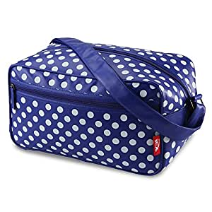 Cabin Max Arezzo Stowaway bag 20x35x20cm Sac Bandoulière –Parfait en tant que deuxième sac pour Ryanair (boutonneux)