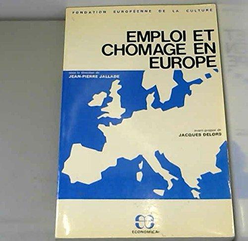 Emploi et chômage en Europe