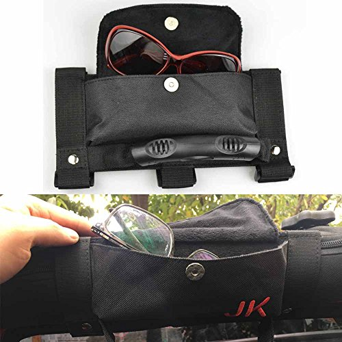 Bosmutus Roll Bar Grab, Handles Grip Handle for 1987-2018 J-eep Wrangler YJ TJ JK JKU (The Shake handshandle Package)