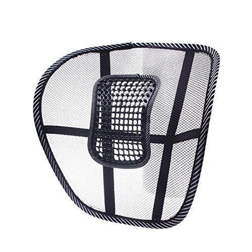 Hot Lendenwirbel elastische Massage Rückengurt zu Hause, im Büro oder Auto, Sitz Mesh,,,