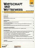 Wirtschaft und Wettbewerb (WuW) [Jahresabo]