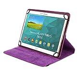 BRALEXX Universal Tablet PC Tasche passend für Samsung Galaxy Tab S 10.5 Tablet, 10 Zoll, Violett