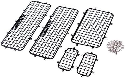 D DOLITY 5pcs Fenêtre Fenêtre 5pcs Protection Maille pour RC Véhicules D90 D110 1/10 Traxxas TRX-4 TRX 4 B07F7HWQGC 261506