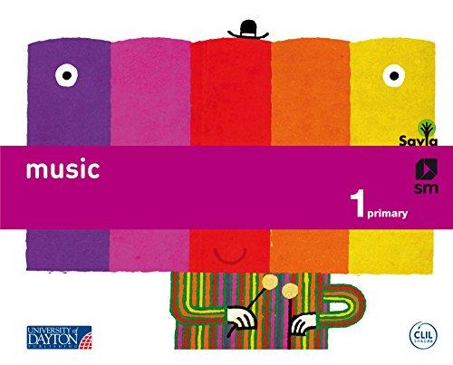 Music. 1 Primary. Savia - 9788415743279
