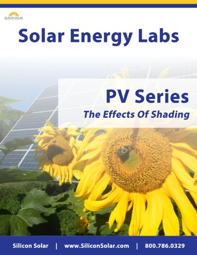 Solar Labs - PV Series - The Effects Of Shading On PV Panels (Solar PV Labs Book 1) (English Edition) -
