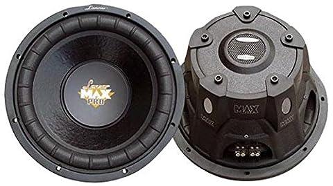 Lanzar MAXP64 Max Pro 600W 6.5 inch 4 Ohm Small Enclosure Car Subwoofer