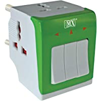 SKIN4GADGETS MX 3-in-1 Universal Travel Adapter Multi-Plug with Individual Switch