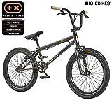 KHE BMX Cosmic 20 Zoll Fahrrad mit Affix Rotor nur 11,1kg Matt Schwarz