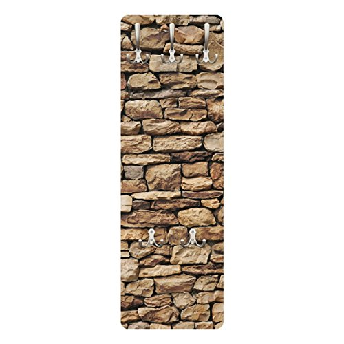 Apalis 67495American–Perchero de Pared de Piedra Pared, 139x 46cm