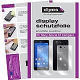 dipos I 6X Schutzfolie klar passend für Sony Xperia Z3 Compact Folie Bildschirmschutzfolie