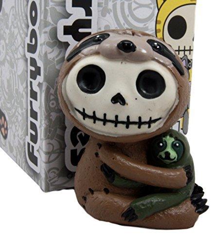 Bones Drei, Faultier Brady Kostüm Skelett Monster Collectible Figur 6,3cm H ()