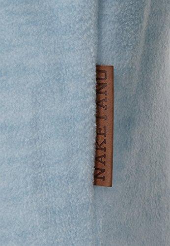 Naketano Male Zipped Jacket Gnadenlos durchgerattert Heavenly Ice Melange